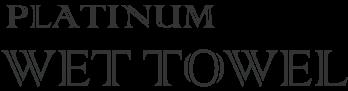 platinaum wet towel